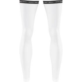 Castelli UPF 50+ warmers, white
